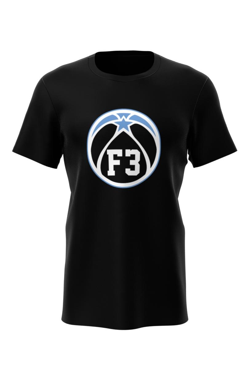 F3 Black T Shirt