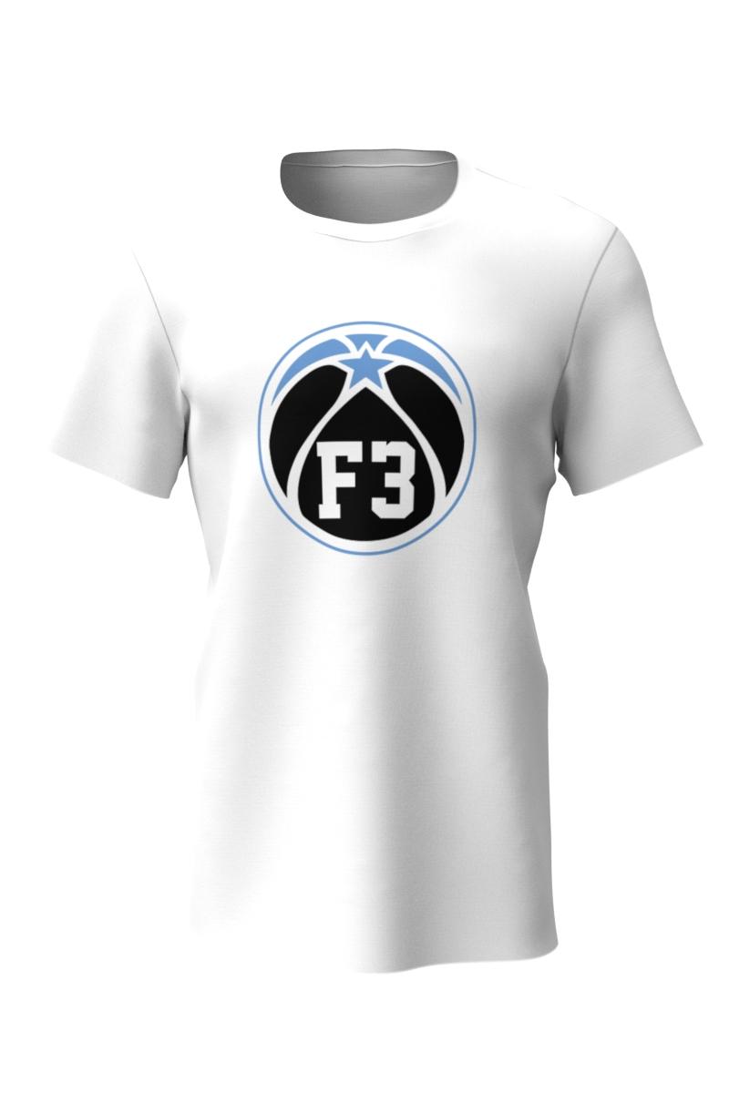 F3 White T Shirt