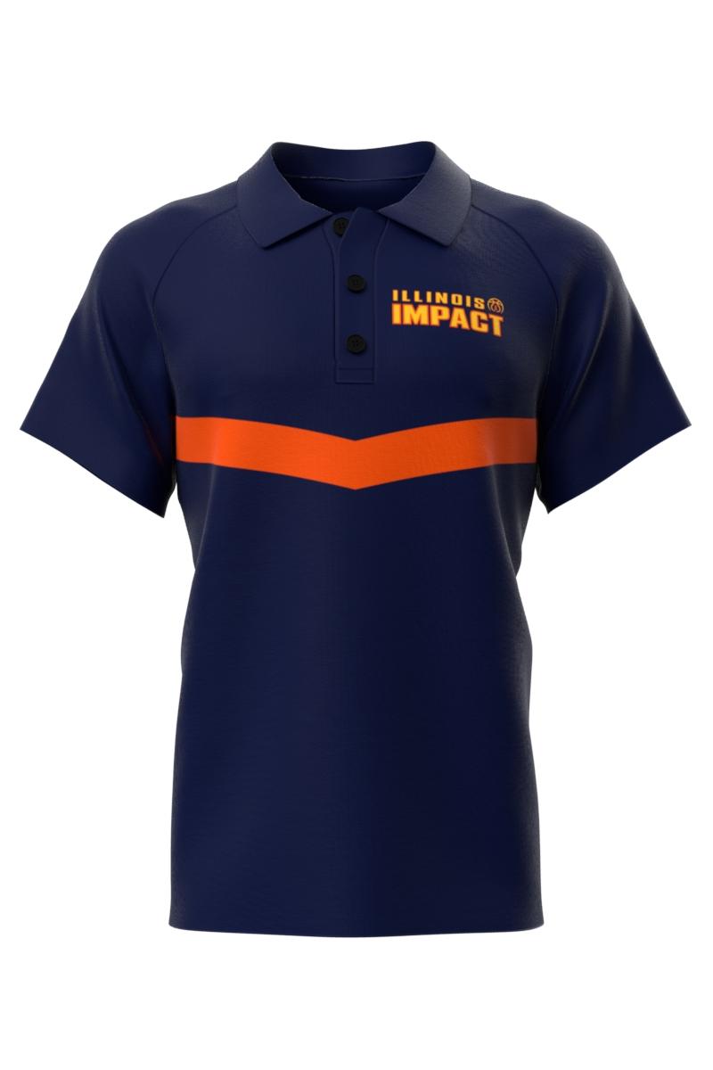 Navy Blue Coaches Shirts