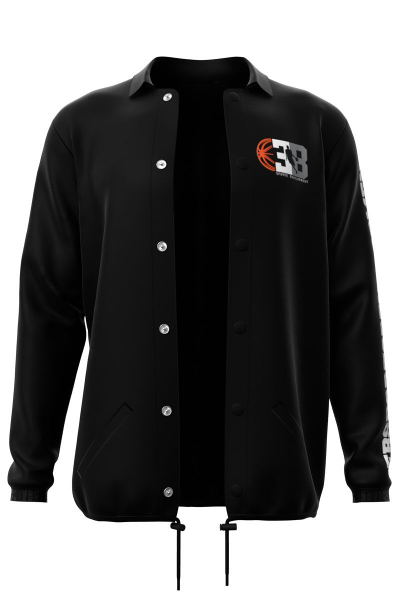 Black Coaches Jacket