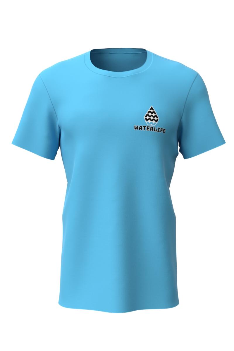 Tshirt Shortsleeve Blue