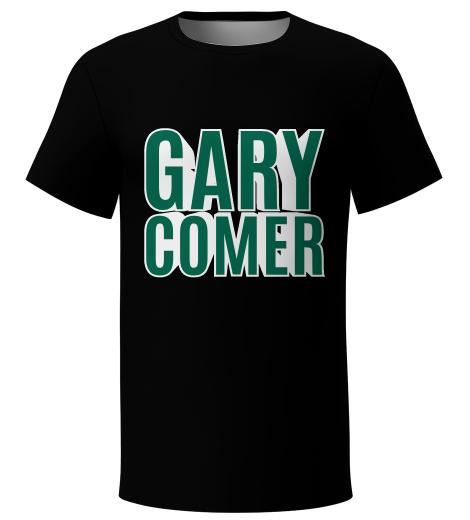Gary Comer black dry-fit t-shirt